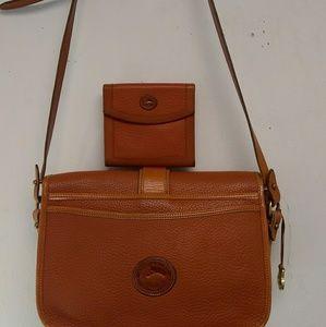 Vintage Dooney & Bourke purse set
